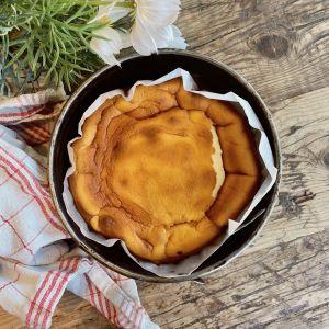 Pastís de formatge sense gluten