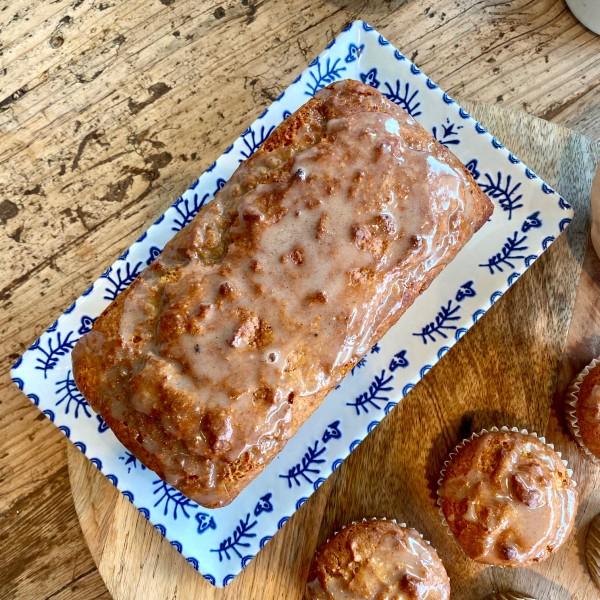 Pumpkin Cake: Bizcocho de calabaza vegano y sin gluten