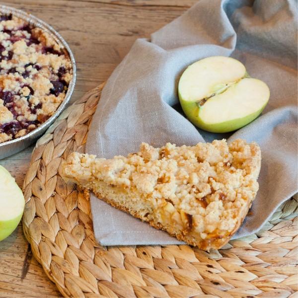 Crumble de manzana sin gluten