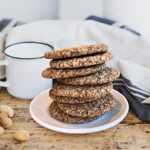 Cookies de chocolate: veganas y sin gluten