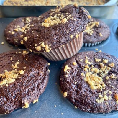 Brownie Muffins: vegan and gluten free